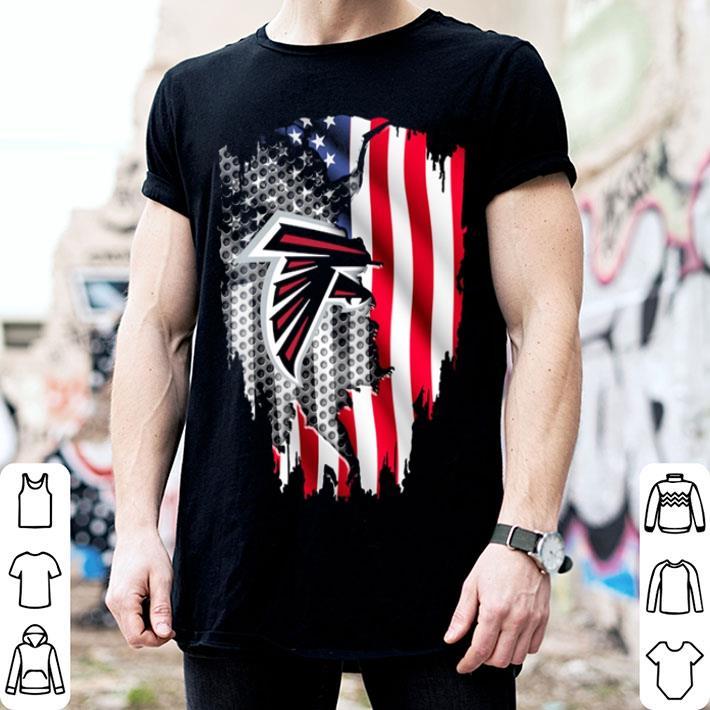Atlanta Falcons American flag shirt