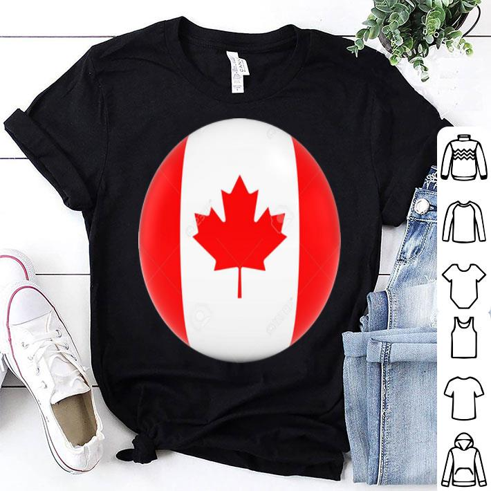 Canadian Flag Ball day shirt