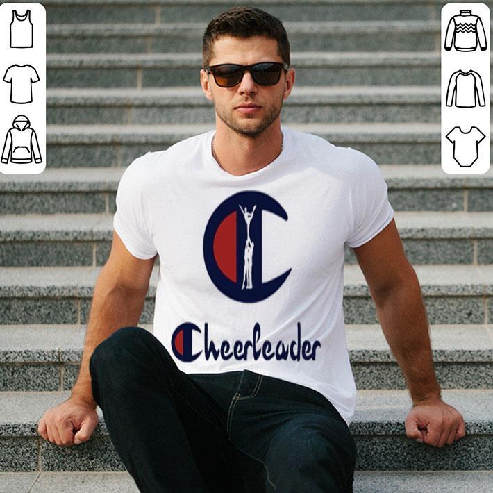Champion Cheerleader Logo shirt