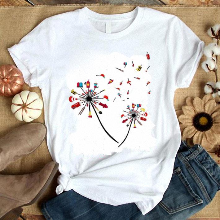 Firefighter dandelion shirt