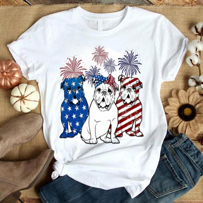Budweiser 4th July independence day American flag shirt