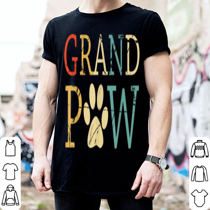 Grand Paw Dog Father Day shirt