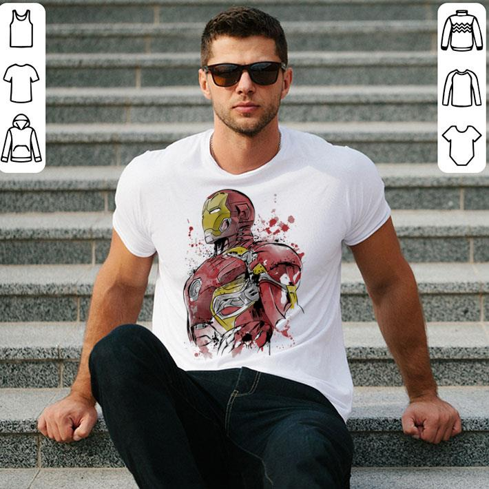 Iron Man watercolor shirt