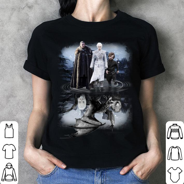 Jon Snow Daenerys Targaryen Tyrion Lannister Game Of Thrones shirt