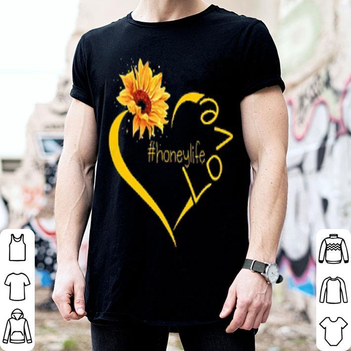 Sunflower love honey shirt