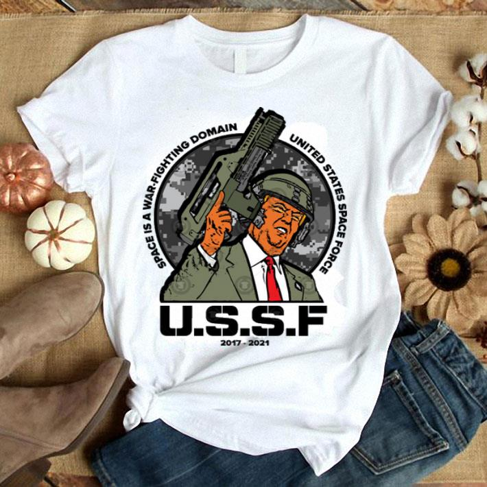 USSF Space is a war fighting domain shirt