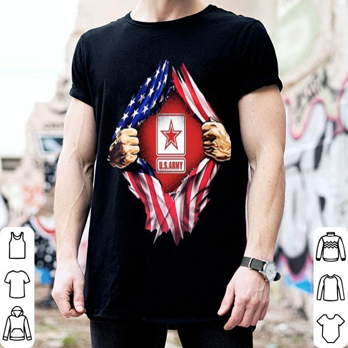 United States Army American flag shirt