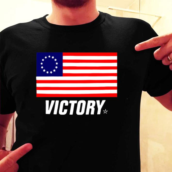 Betsy Ross flag Victory shirt