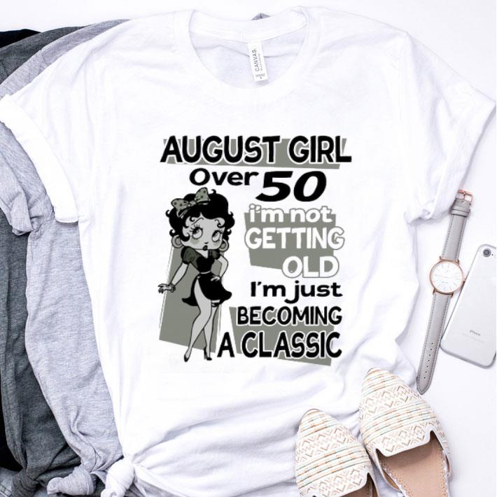 Minnie Mouse october girl i'm not getting old i'm just classic shirt
