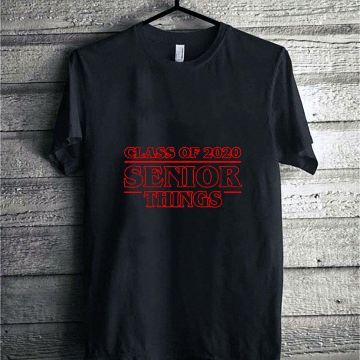 Class of 2020 Senior Things Stranger Things 3 shirt sweater 1