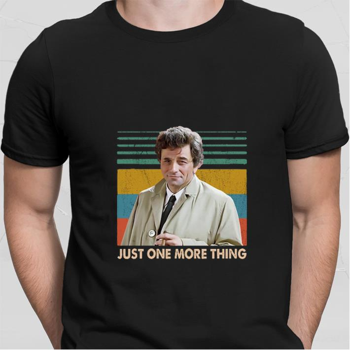 Columbo Just one more thing Vintage shirt sweater