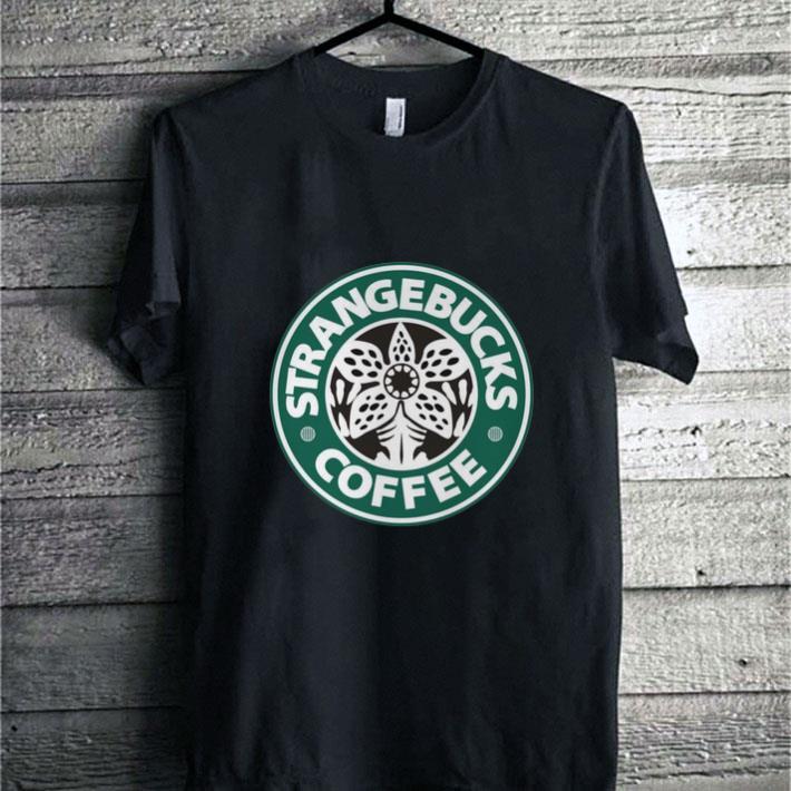 Demogorgon Strangebucks coffee Stranger Things Starbucks shirt