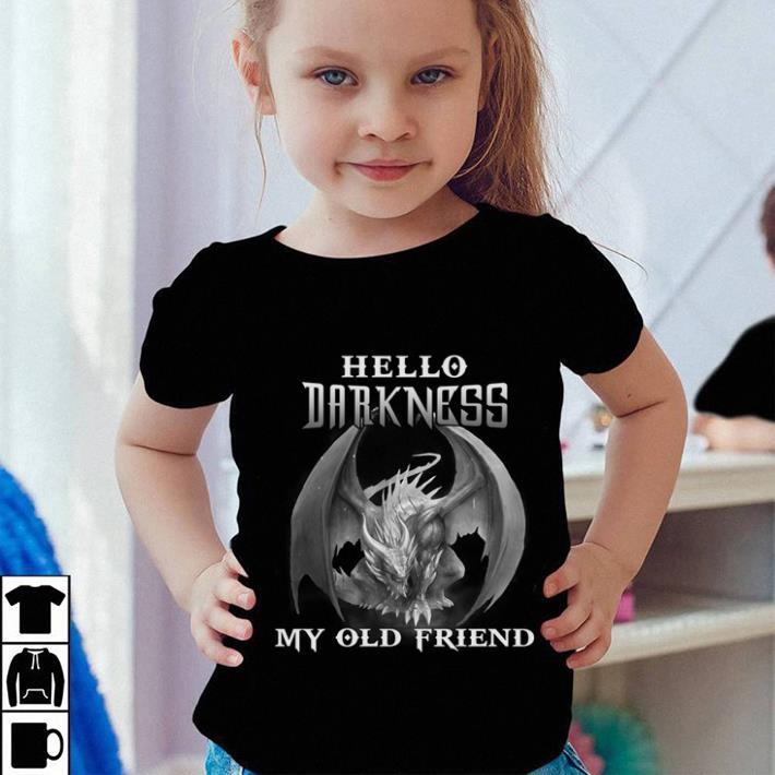Dragon Hello darkness my old friend shirt sweater