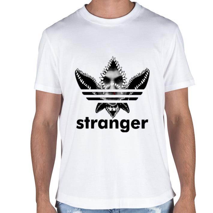 Eleven Face Adidas Stranger Things shirt