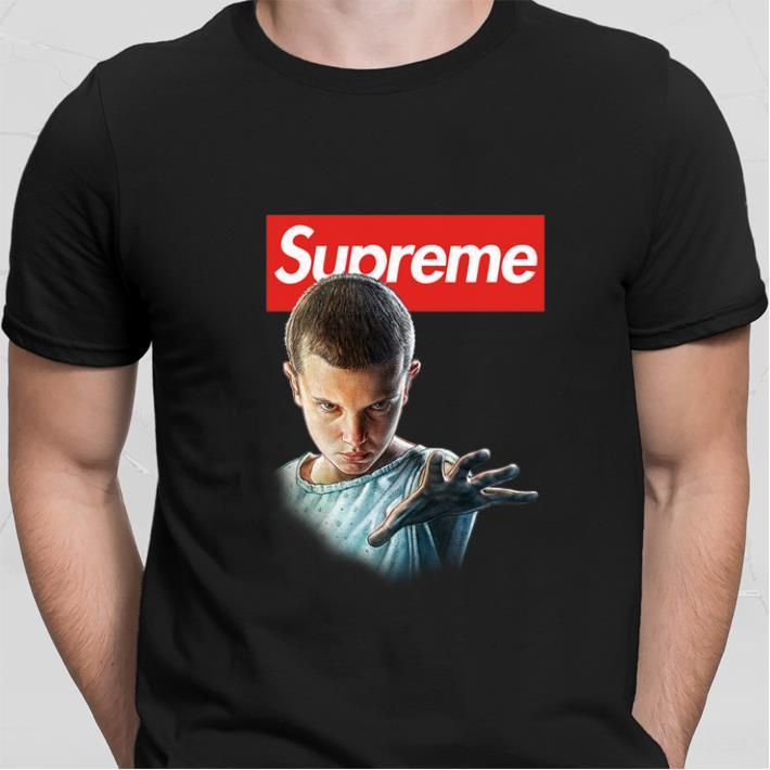 Eleven Supreme Stranger Things shirt