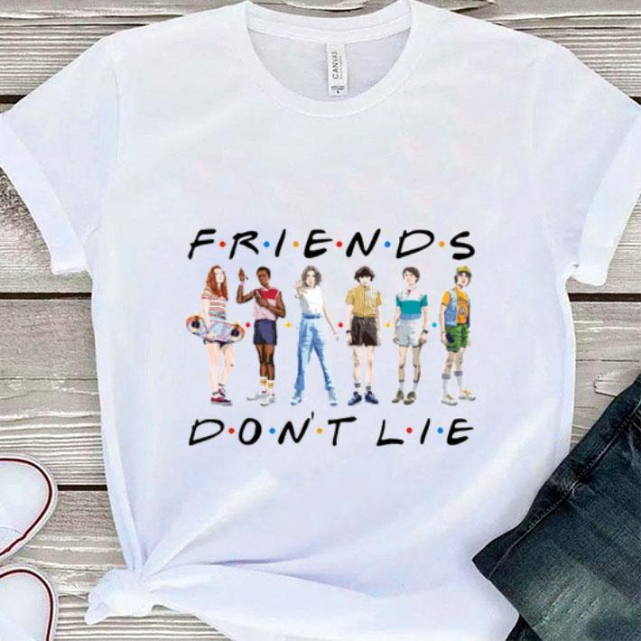 Friends don't lie Stranger Things friendship shirt
