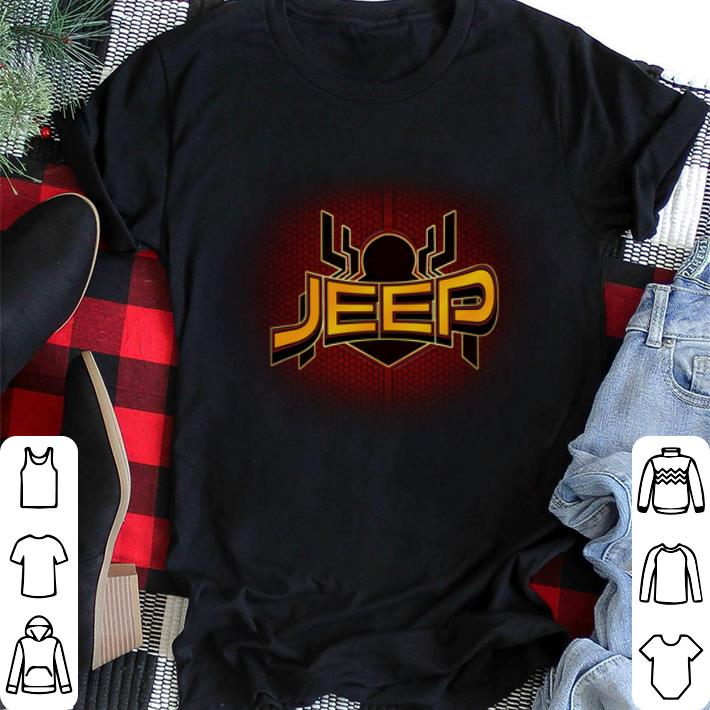 Jeep Far From Home Spider Man shirt