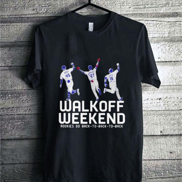 Rookies go back to back to back Walk off weekend shirt