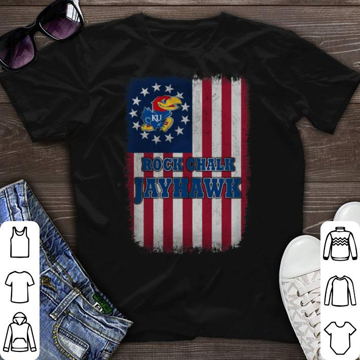 Ross Flag Rock Chalk Jayhawk Betsy shirt