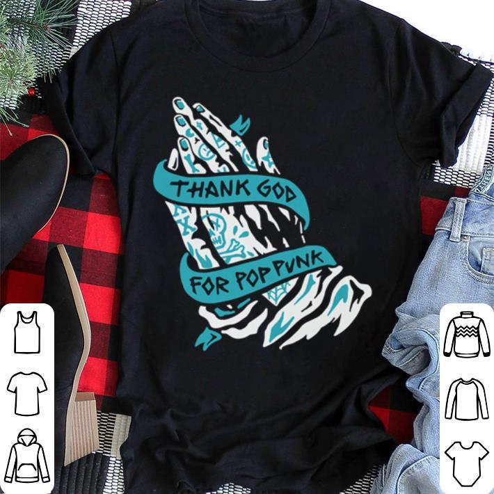 Thanks god for Pop Punk shirt 2