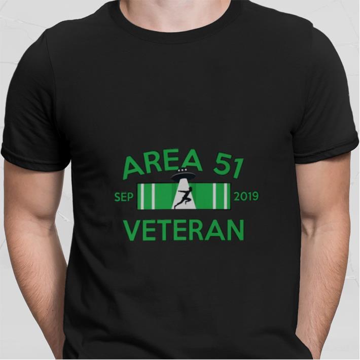 UFO Area 51 sep 2019 Veteran shirt