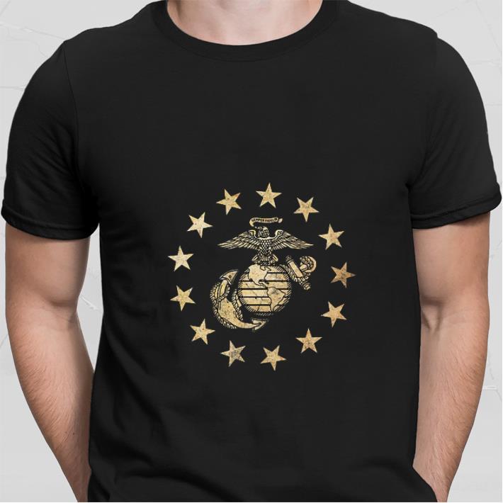 United States Marine Corps Betsy Ross flag shirt