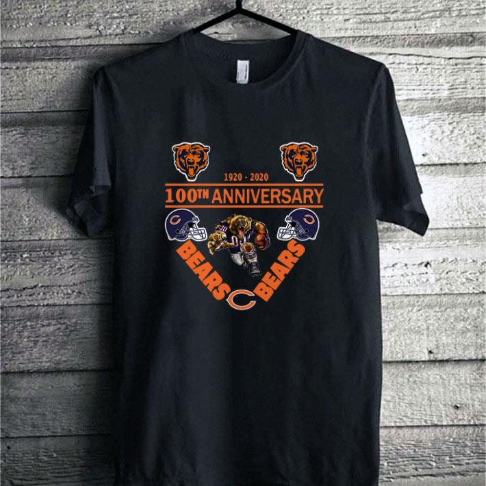 1920-2020 100th anniversary Chicago Bears shirt