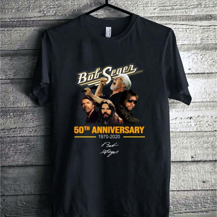 Bob Seger 50th anniversary 1970-2020 signature shirt sweater