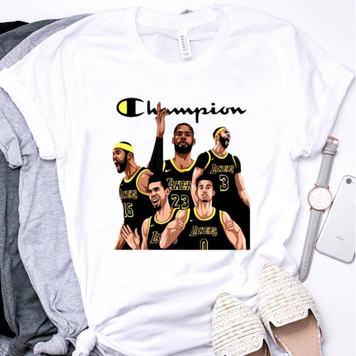 Champion Squad Los Angeles Lakers shirt