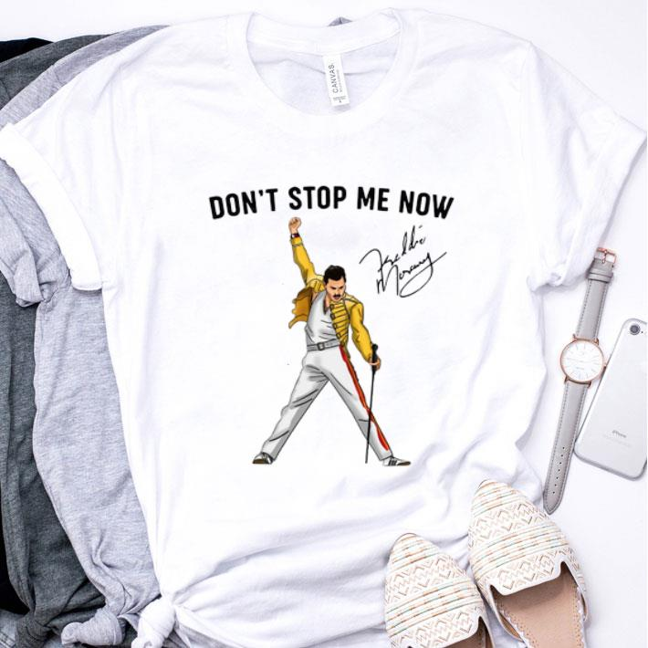 Freddie Mercury don't stop me now signature shirt