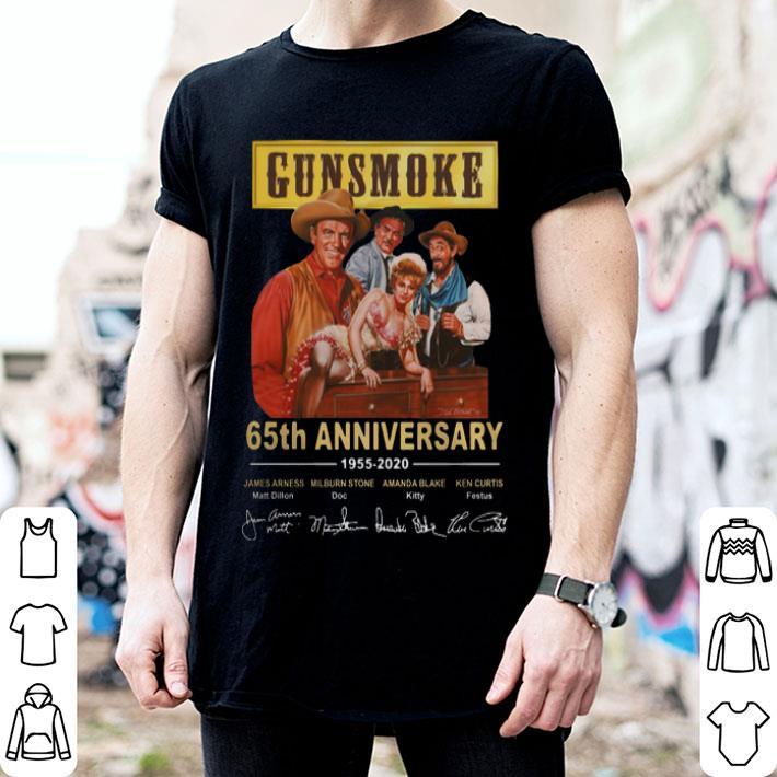 Gunsmoke 65th anniversary 1955-2020 signatures shirt