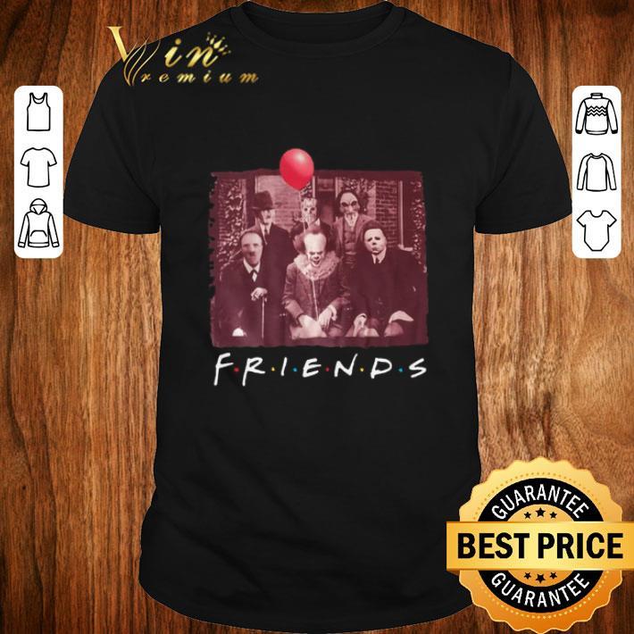 Jigsaw Friends TV Show Horror movie characters shirt