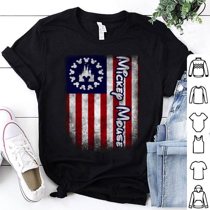 Mickey mouse Betsy Ross flag Walt Disney American flag shirt