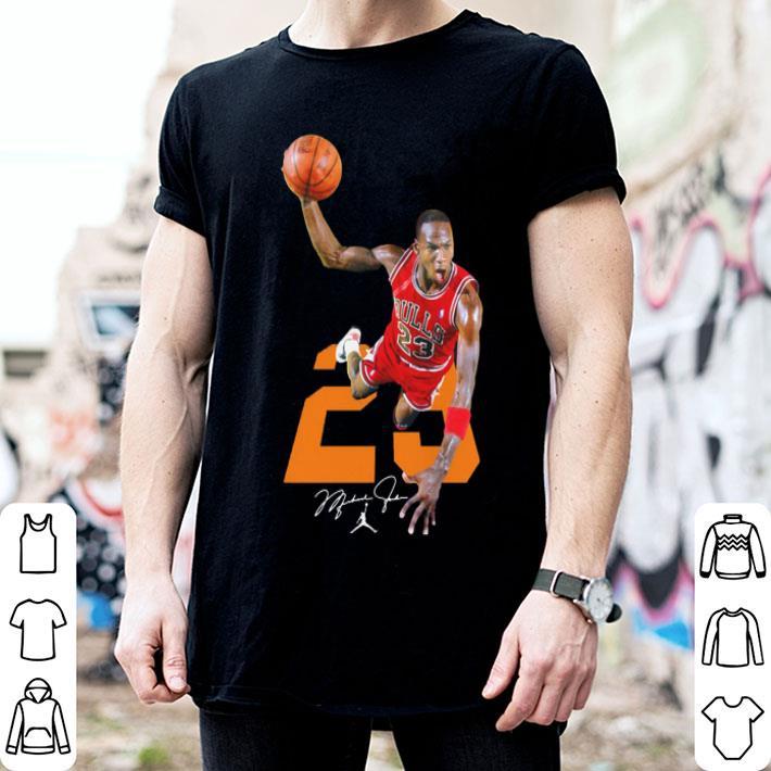 NBA Michael Jordan 23 signature shirt