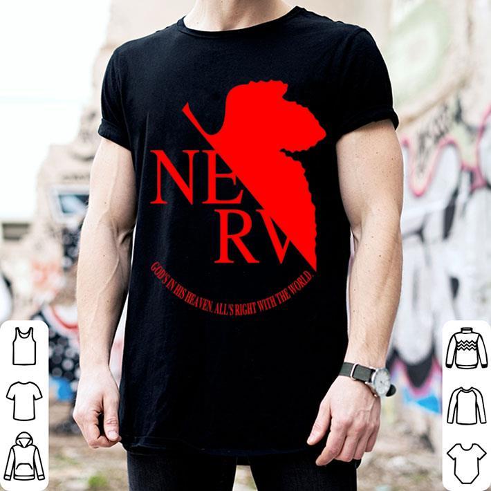 Nerv Logo Neon Genesis Evangelion shirt
