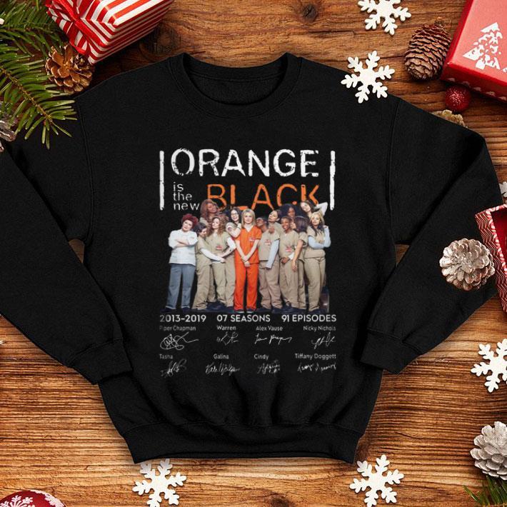 Orange is the new black 2013-2019 07 seasons signatures shirt