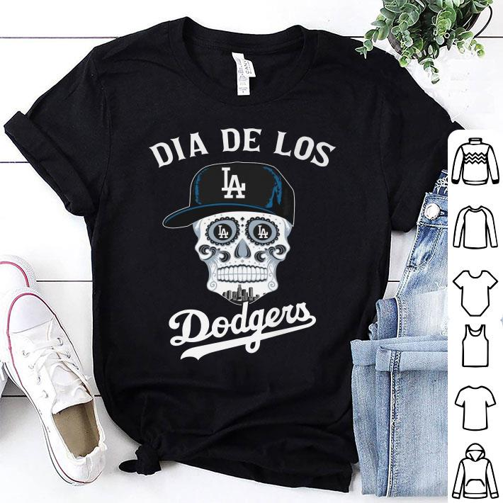 Skull dia de Los Angeles Dodgers shirt