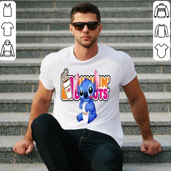 Stitch Dunkin' Donuts shirt