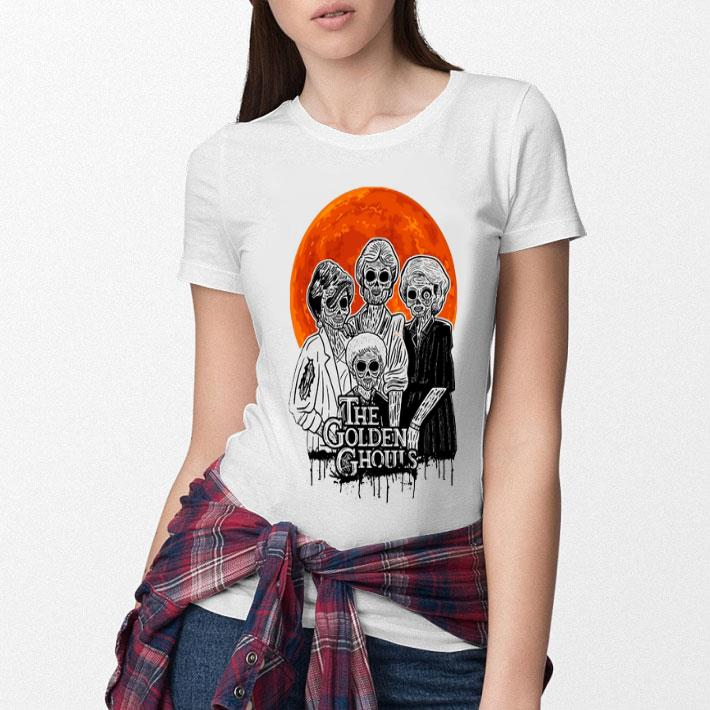 The Golden Ghouls Sunset The Golden Girls shirt