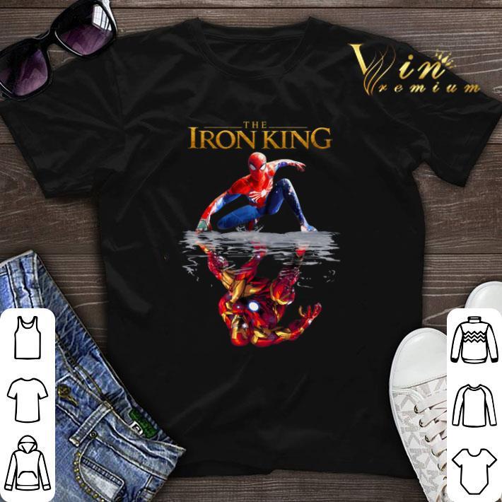 The Iron King reflection Iron Man The Lion King 2019 Spider Man shirt