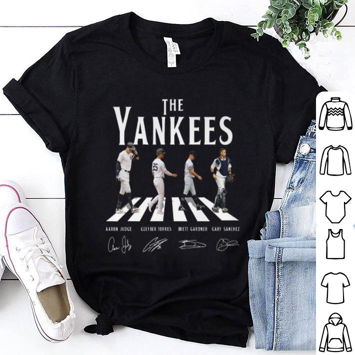 The Yankees Abbey Road Signatures New York Yankees shirt