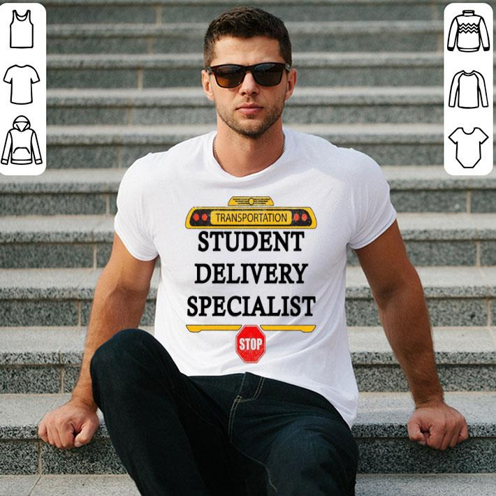 Transportation student delivery specialist stop shirt