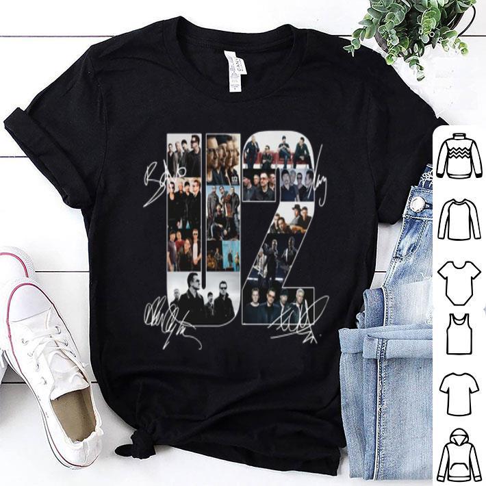 U2 Signatures shirt