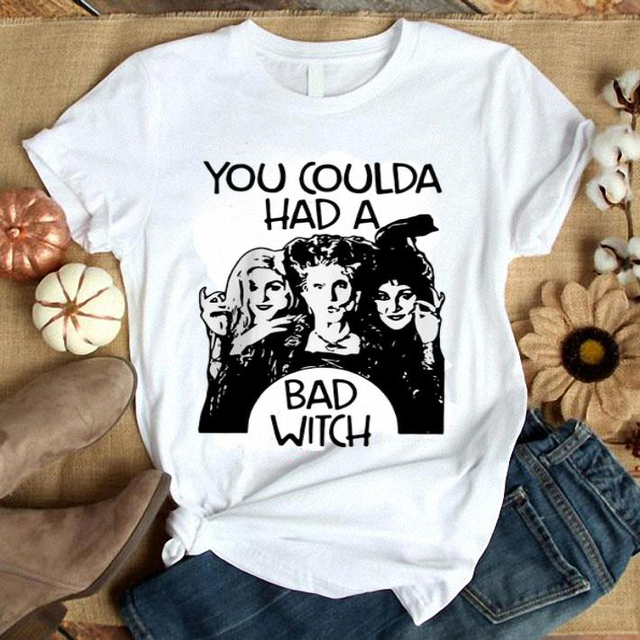 you coulda had a bad witch Hocus Pocus shirt