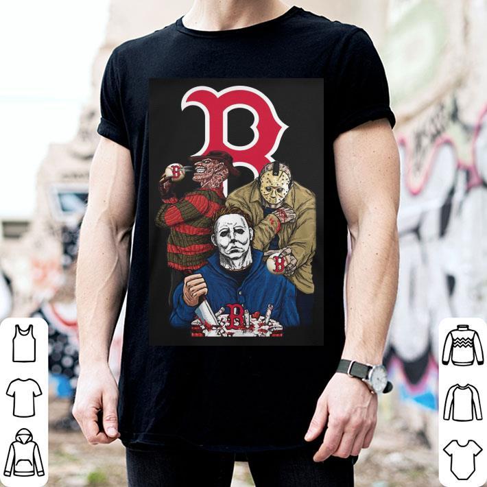 Boston Red Sox Horror movie characters shirt