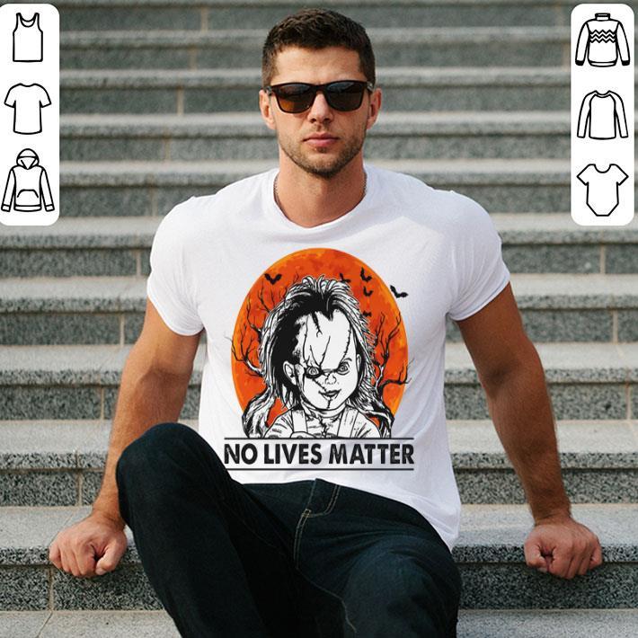 Chucky no lives matter sunset shirt