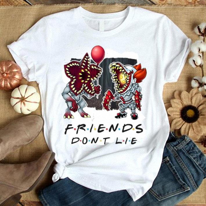 Demogorgon IT Friends don't lie shirt