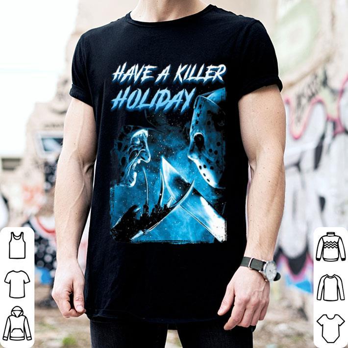 Freddy Krueger Have a killer holiday Jason Voorhees shirt