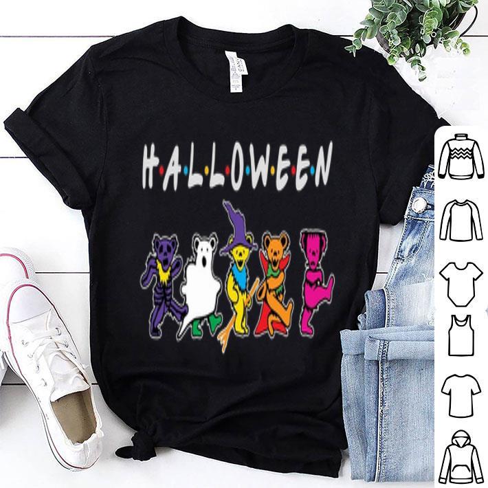Halloween Grateful Dead Dancing Bears Friends shirt