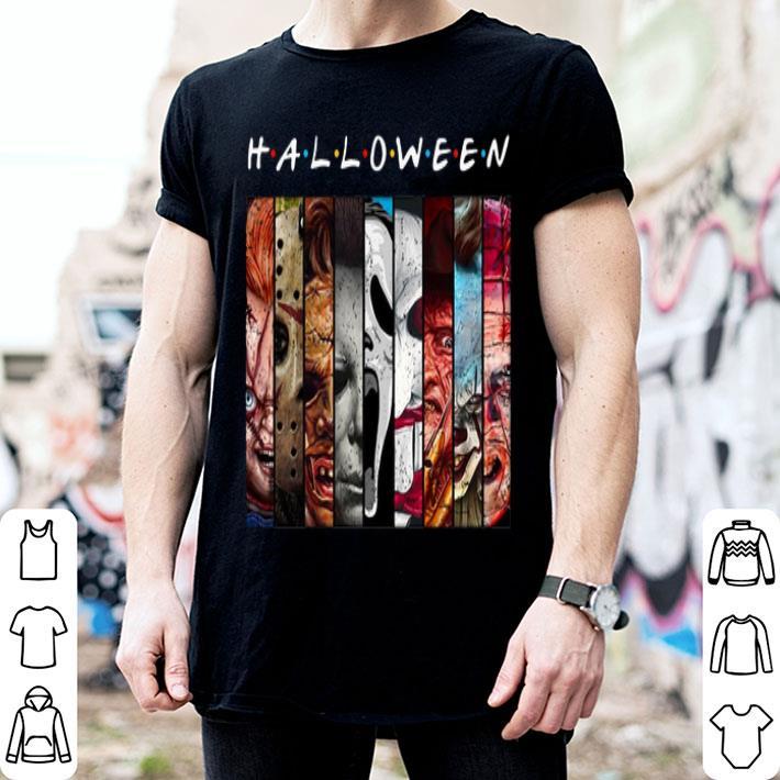 Halloween horror movie characters shirt